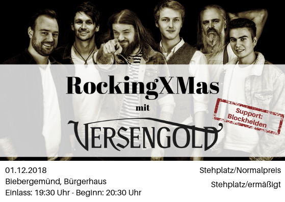 Das war's: RockingXMAS 2018
