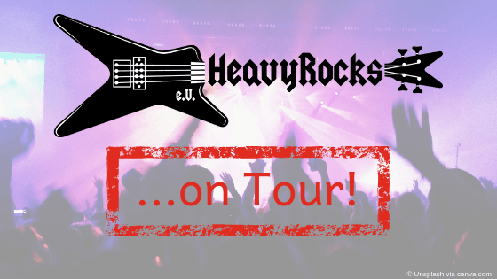 HeavyRocks on Tour: Nitrogods @ Halle-Party No 25